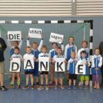 Minihandballer des Langenbogener Sportvereins auf dem Vormarsch