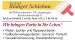 Malerbetrieb Rüdiger Schlehan