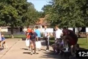 Strongman-Wettbewerb für Handballer